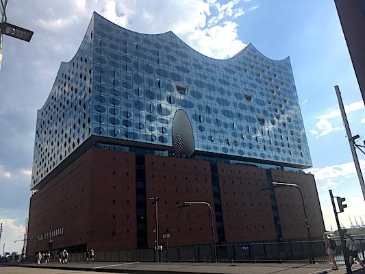 Elbphilharmonie of Hamburg