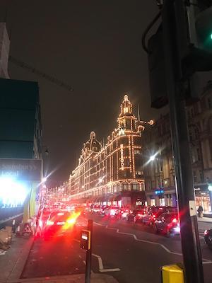 Grandi magazzini Harrods di Londra