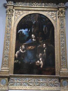 La Vergine delle Rocce di Leonardo Da Vinci al National Gallery