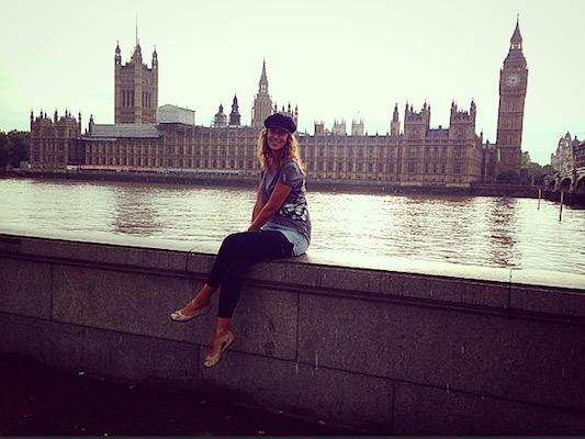 Sul Tamigi con vista Big Ben durante il mio viaggio a Londra