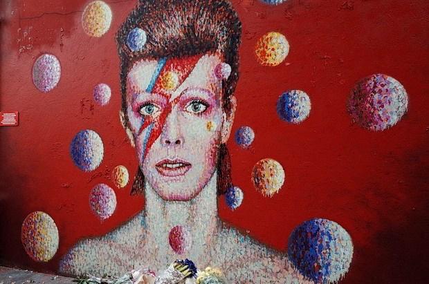 Murales a Brixton dedicato a David Bowie