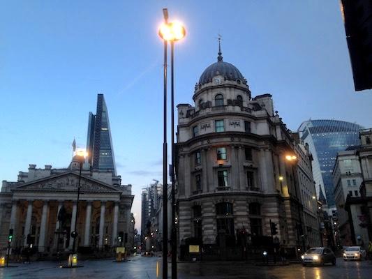 Bank of England nella City di Londra
