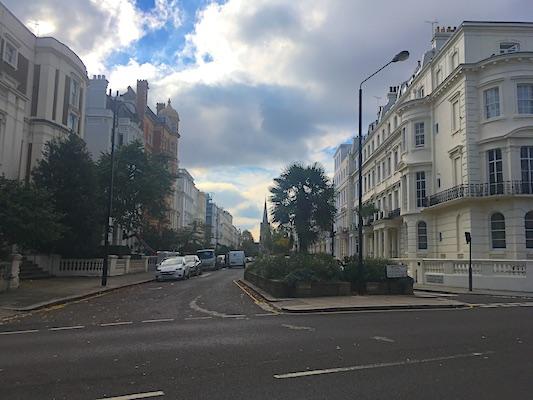Il quartiere di Notting Hill di Londra