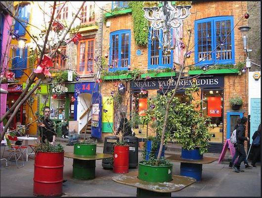 Neal's Yard della Londra Segreta