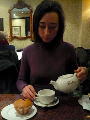 L'ora del tè a Londra