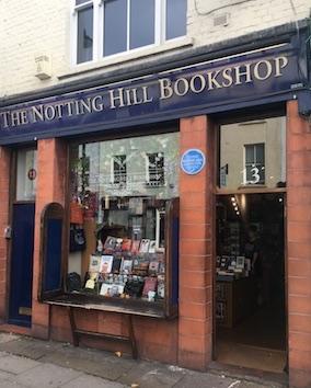La libreria del film Notting Hill