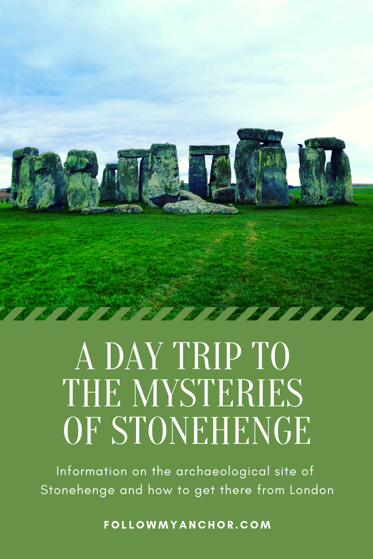 A Day Trip to the Mysteries of Stonehenge | Information on the archaeological site of Stonehenge: what it is, what we know and what we don't know about this mysterious place, and how to get to Stonehenge on a day trip from London. #Stonehenge #StonehengeFromLondon #TravelBlog