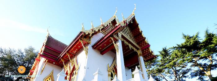 Buddhapadipa Temple in Wimbledon, London