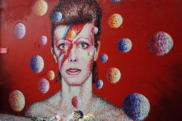 David Bowie Mural in Brixton