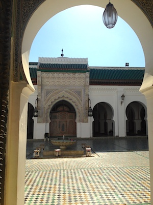 Karaouine Mosque in the medina of Fes