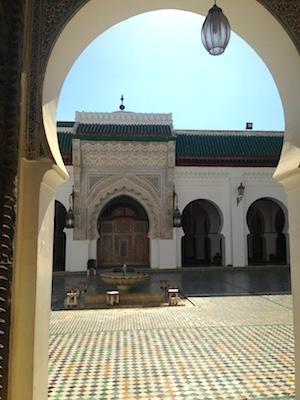 Moschea Kairaouine nella Medina di Fes