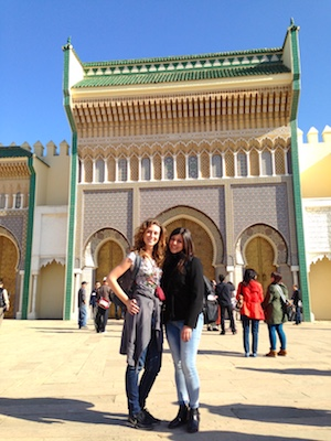 The Royal Palace in Fes