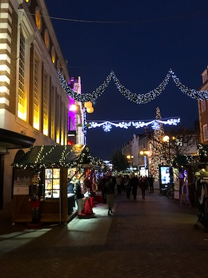 Christmas markets in Kingston