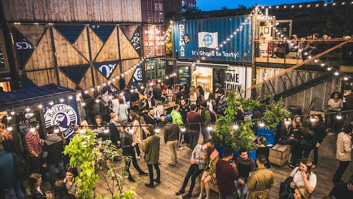 Pop Brixton in London