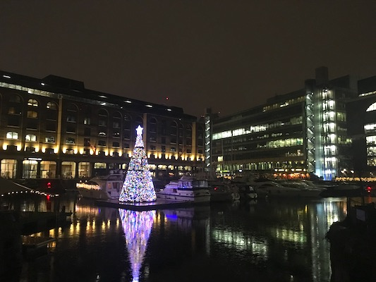 St. Katharine Docks in London