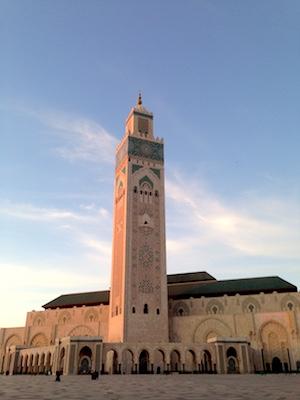 Minareto della Moschea di Hassan II
