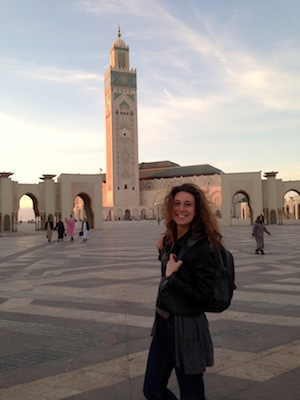 Alla Moschea di Hassan II