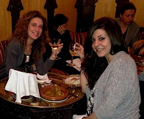 Cena marocchina al Restaurant al-Mounia