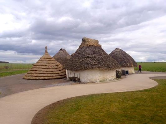 Case neolitiche a Stonehenge