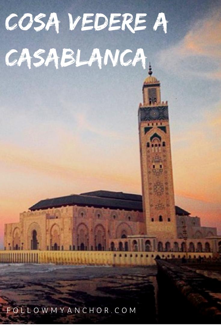 Cosa Vedere a Casablanca | Un itinerario turistico che percorre i punti più interessanti della città principale del Marocco. #Casablanca #CasablancaCosaVedere #CasablancaUnGiorno #TravelBlog