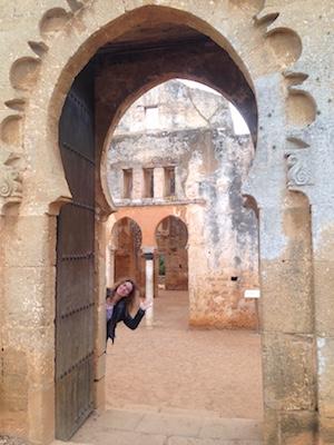 Resti della Moschea di Chellah