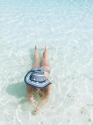 Il mio tentativo di indossare il cappellone wanderlust alle Maldive