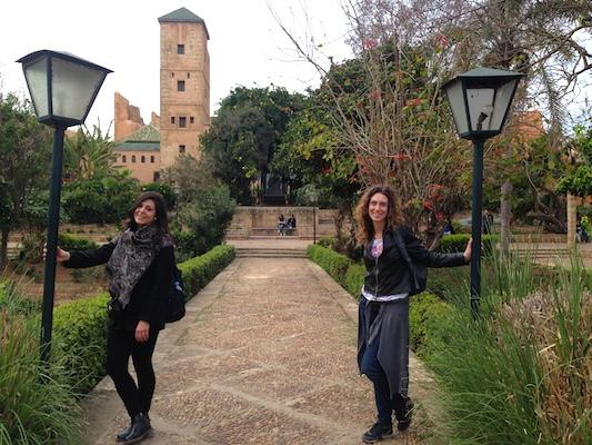 Giardini Andalusi nella Kasbah di Rabat