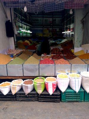 Souk delle Spezie nella medina di Rabat