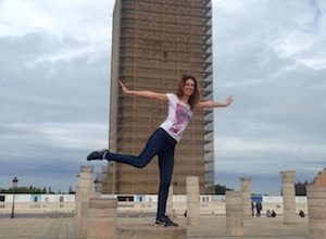 Hassan Tower, one of the things to do in Rabat