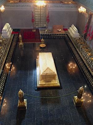 Tomba del re Mohammed V del Marocco