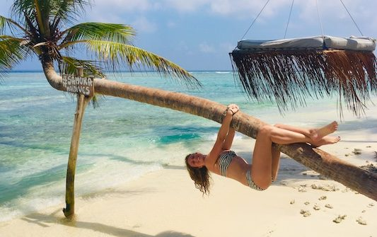 My travel to the Maldives