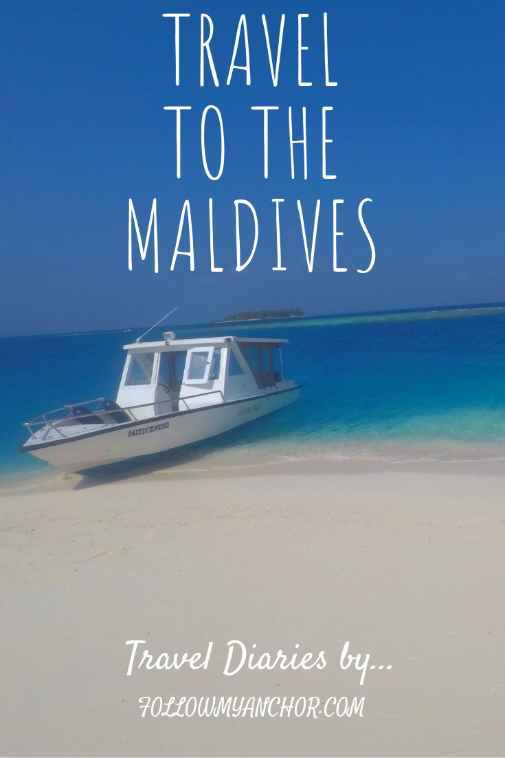 Travel to the Maldives | Snorkeling, diving, boat trips, dolphin sightings, villages and islands hopping, kayak trips, swimming in beautiful water with thousands shades of blue. #Maldives #TravelToTheMaldives #TravelBlog