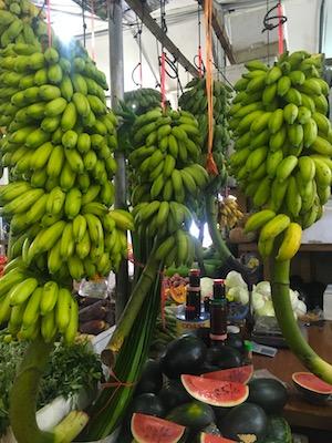 Banane nel mercato di Malè