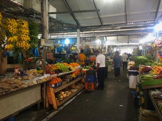 Mercato di frutta e verdura di Malè