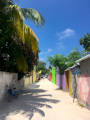 Thulushdoo: un'isola locale alle Maldive