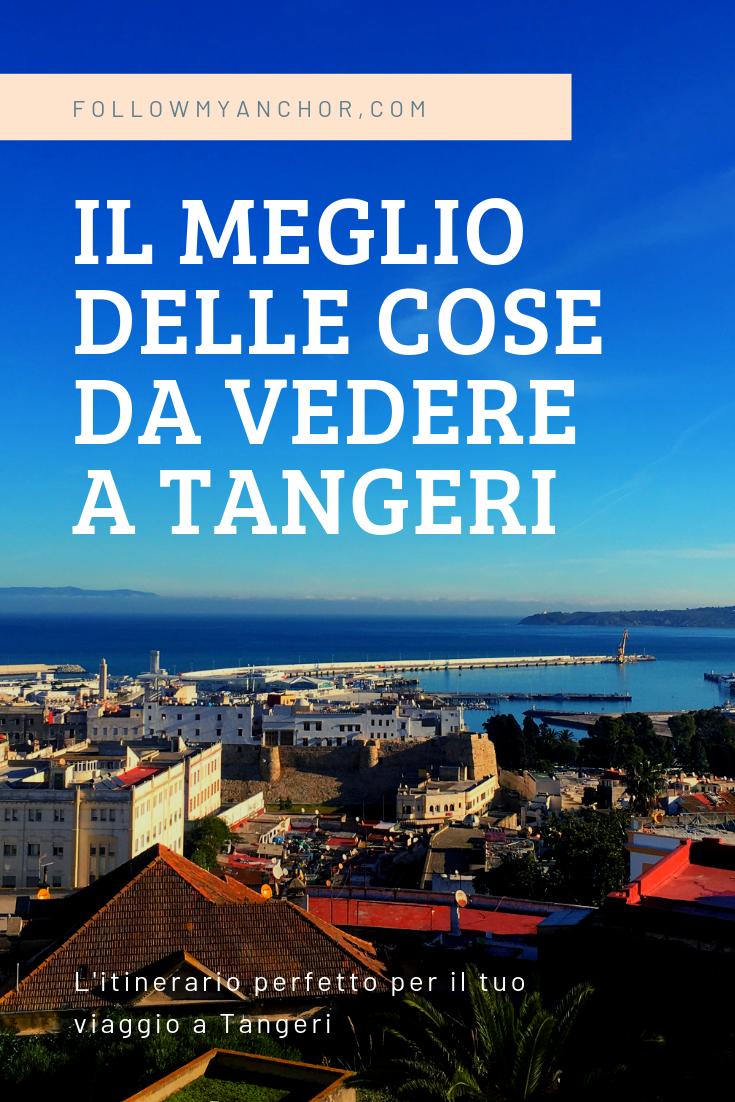Cosa Vedere a Tangeri | L\'itinerario perfetto per il tuo viaggio a Tangeri lungo i punti di interesse della medina e della ville nouvelle, con consigli di viaggio e suggerimenti su dove dormire e cosa mangiare. #Tangeri #TangeriCosaVedere #TravelBlog