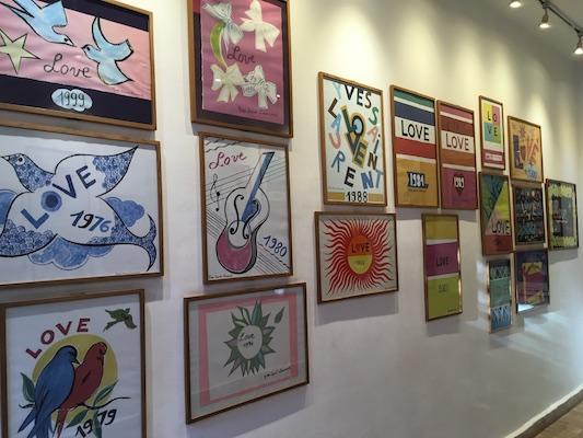 Galleria Love di Jardin Majorelle