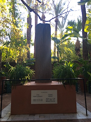 Yves Saint Laurent Memorial in Jardin Majorelle