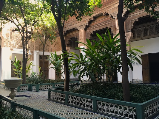 Giardini del Palazzo el Bahia