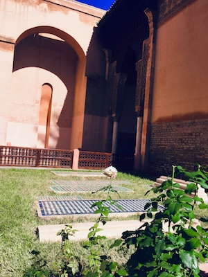 Gardens in the Saadian Tombs