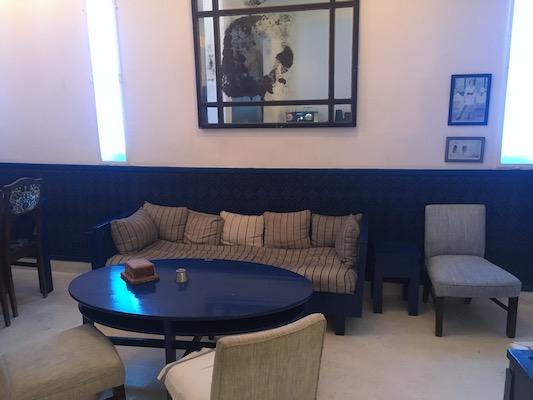 Cena al Salon Bleu di Tangeri