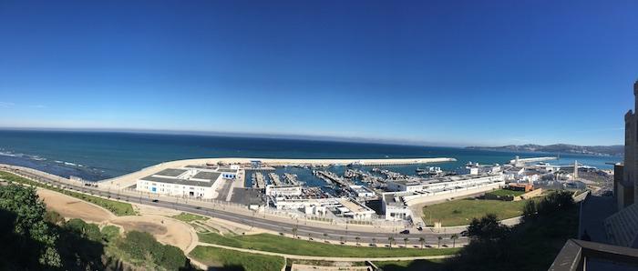 Panorama dalla Kasbah di Tangeri