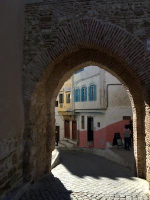 Vicoli della medina di Tangeri