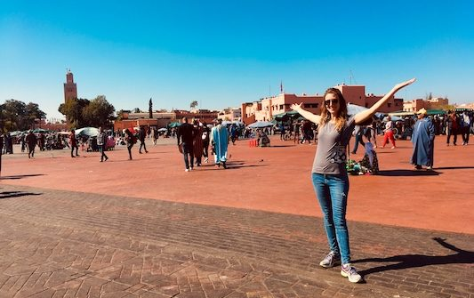 Jemaa el-Fna: one of the things to do in Marrakech