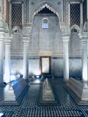 Sala delle Dodici Colonne nelle Tombe dei Saaditi