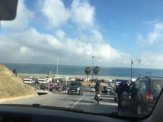 Il caos della frontiera di Ceuta