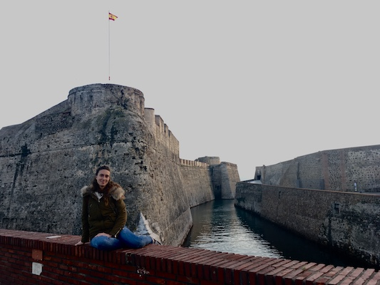 At the Royal Walls of Ceuta