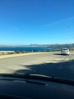 Strada panoramica per Ceuta