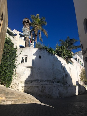 The alleys of the medina of Tangier