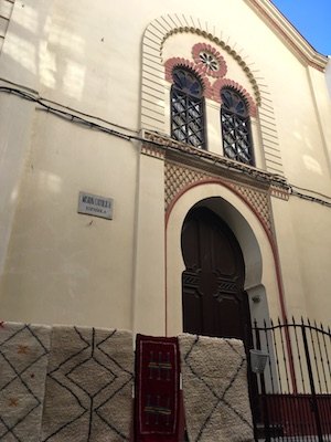 The old Spanish church in Tangier